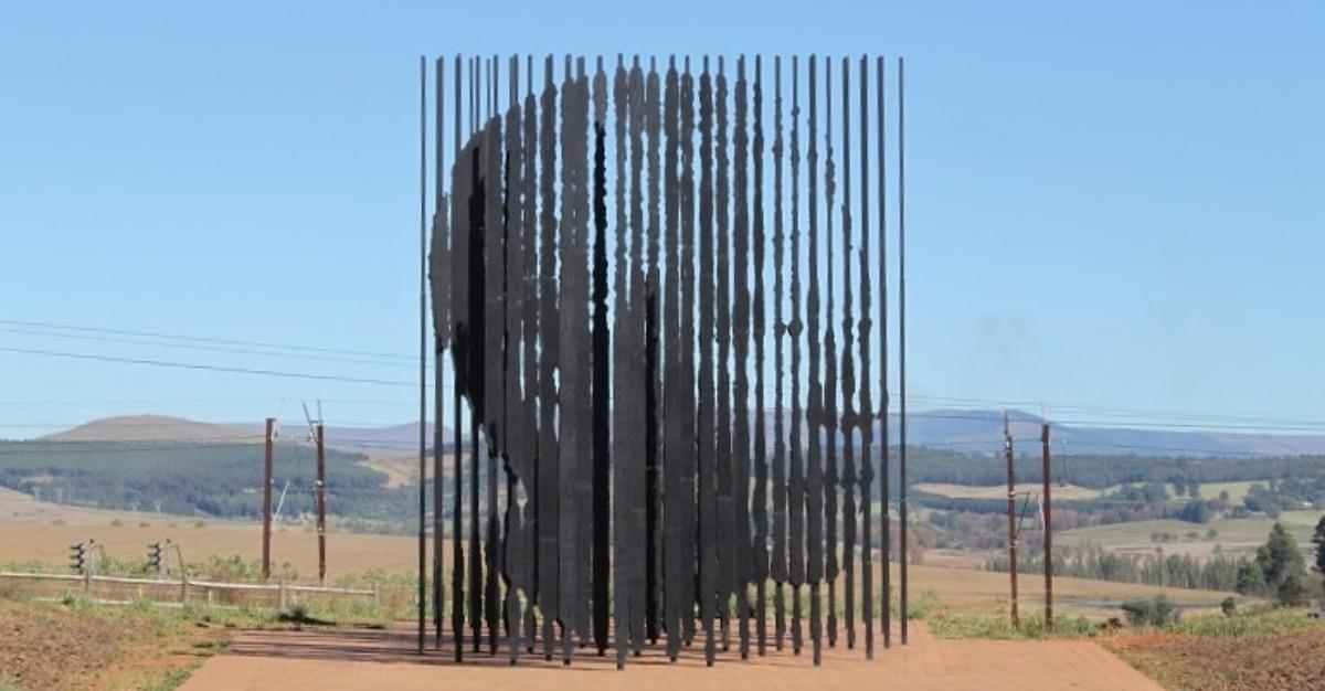 Nelson Mandela Capture Site Statue