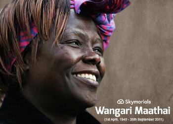 Wangari Maathai Online Obituary